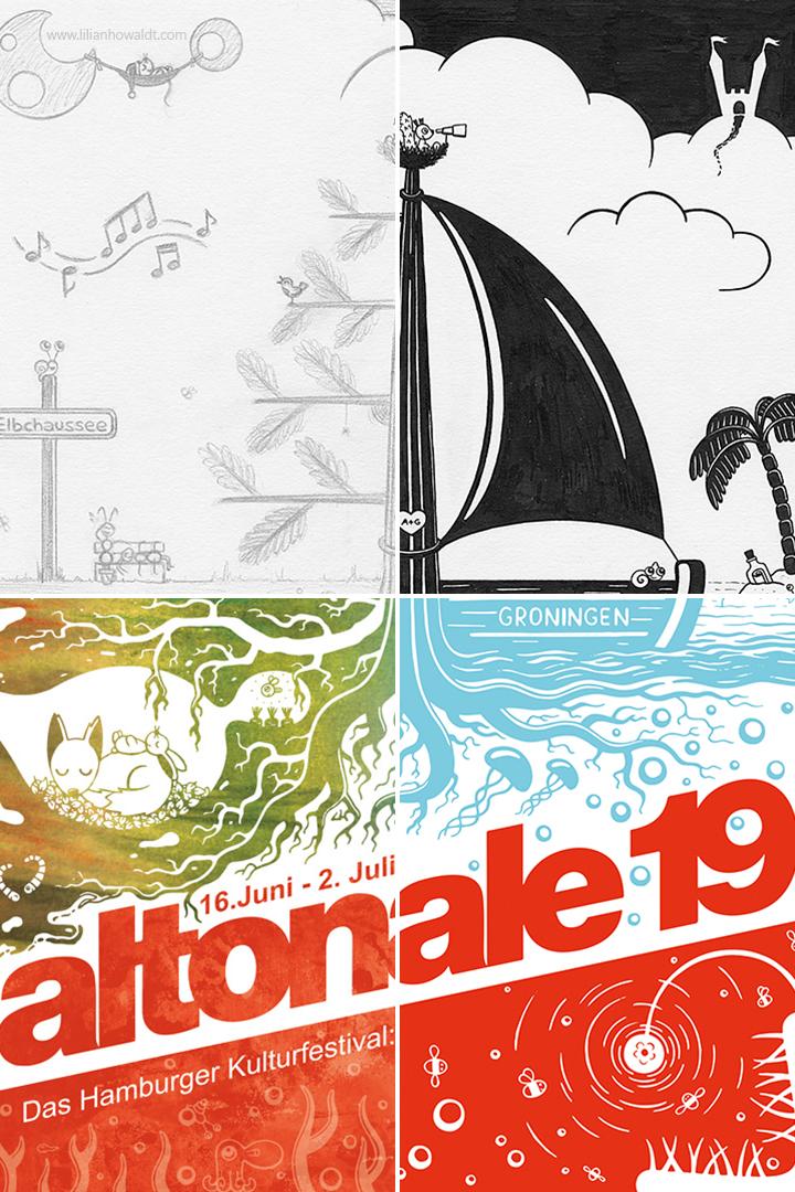 Altonale 19 Poster Design
