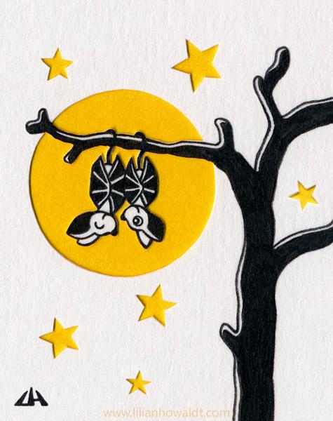Bats In The Moon